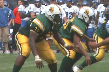 While at Lane Tech College Prep, Laken Tomlinson (l.) was named the 23rd-best offensive guard in the nation by Scout.com, in addition to several other national honors. He chose Duke University over several other Division I schools.