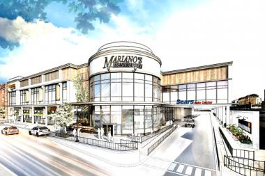 Mariano's and LA Fitness are expected to open in mid-March at Ravenswood Station on Lawrence Avenue, the site of a former Sears parking lot.