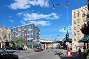 "Centrum Partners seeks to build a mixed-use, transit-oriented development at 3400 N. Lincoln Ave., a long-vacant lot near the Paulina Brown Line ""L"" stop."