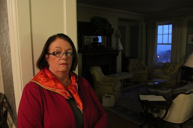 Ann Marie Miles is one of many residents reporting strange noises and vibrations in buildings across the east end of Hyde Park since winter started.