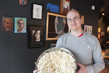 Ben Zion owns Popcorn Asylum, a new artisan popcorn shop that uses real butter and shuns corn syrup in its popcorn flavors.
