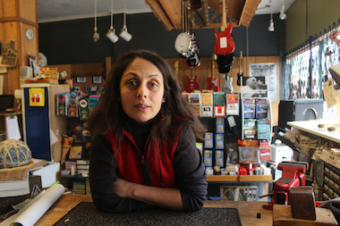 Owner Chris Bell took over the music shop in 2007 and has more than 300 students in Rogers Park.