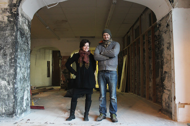 Ally Brisbin, 28, and Stuart Marsh, 29, want to help people fix their broken stuff.