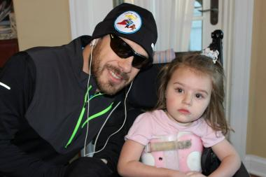 Bill Babiarz will undertake a 150-mile run across the state to raise awareness for a rare syndrome his 4-year-old daughter Cameron suffers from. Cameron (Cammy Can) was diagnosed with Rett Syndrome when she was 20 months old.