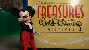 "A new exhibit, ""Treasures of Walt Disney Archives"" is currently at the Museum of Science and Industry."