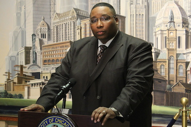 Ald. Jason Ervin called on state Rep. Derrick Smith to resign.