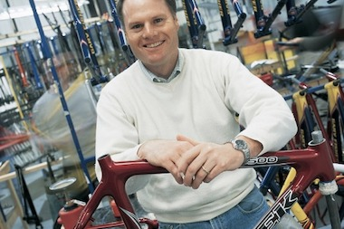 John Burke, president of Trek Bicycle Corp.