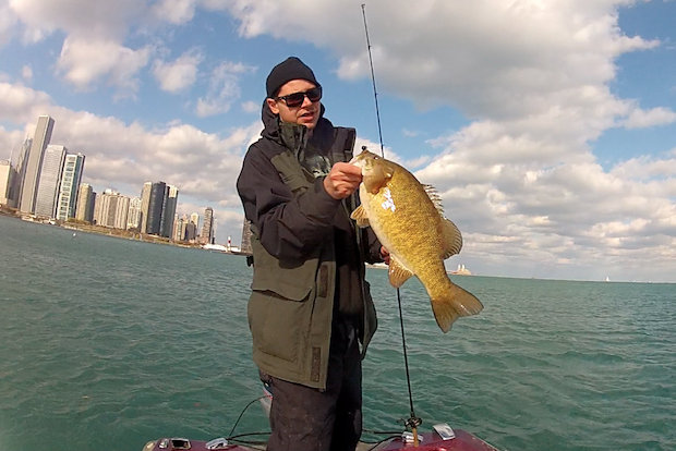 "John-Paul Hey of the Gold Coast is the ""hip-hop fisherman."" He hopes to become a professional in the sport and fishes Chicago waters almost every day."