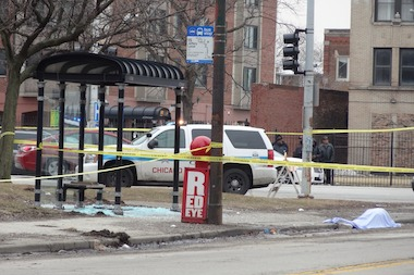 A 20-year-old man was fatally shot in Washington Park on Friday, March 28, 2014.