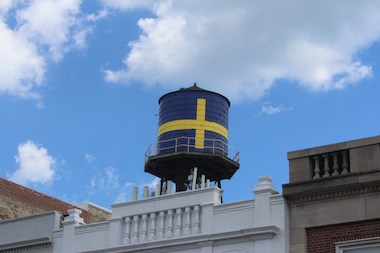 Andersonville's iconic water tower.