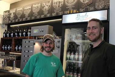 "Brendan Blume (r.) and Matt Ritchey, co-owners of Begyle Brewing, were named to Zagat's ""Chicago 30-Under-30"" list. The popular guidebook released its third annual list of rising stars on the city's culinary scene Monday."