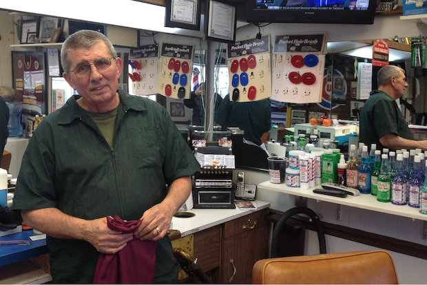 Man Cave Barber Oran Park : Ron s barber shop city ultimate man cave celebrates