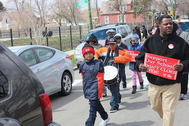 Fight to Halt Walter Gresham School Turnaround Gets Boost from Rainbow PUSH