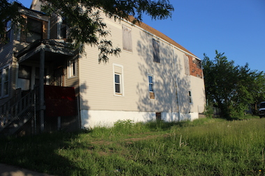 A vacant lot in the 1600 block of West Marquette Road was one of 14 city-owned parcels sold to a private developer in 2010 for $1. The program was supposed to build single-family homes on the vacant land, but the developer declared bankruptcy just three months after the City Council approved the project.