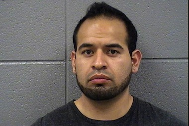 Roman Cervantes is charged with fleeing police Monday on his motorcycle at speeds exceeding 100 mph.