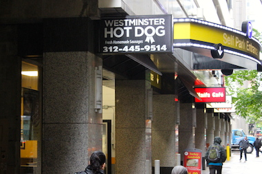 The Loop's Westminster Hot Dog closes up shop at the end of business Thursday.