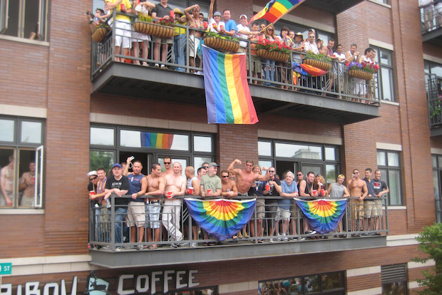 pride parade crackdown  police to target rooftop  balcony