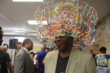 Gallery Guichard celebrated the official opening of its new space at the Bronzeville Artist Lofts on Tuesday.