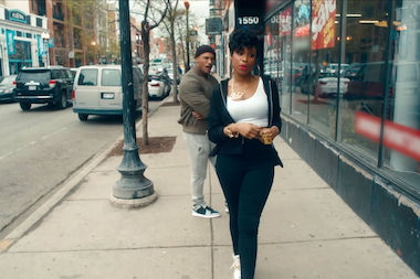 Jennifer Hudson took over the streets of Wicker Park last month to shoot the video, which was released this week.