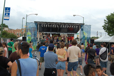 The Milwaukee Avenue Arts Fest transformed Logan Square into Chicago's biggest pop-up district last summer.