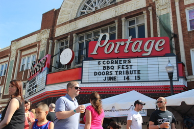 The Portage Theater reopened its doors Saturday after being closed for about a year.