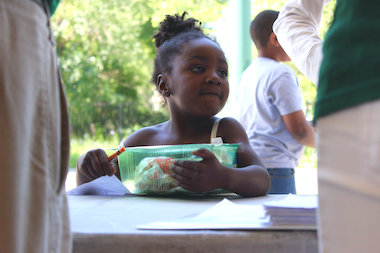 Food Depository 'Lunch Bus' Raises Awareness of Summer Food Insecurity