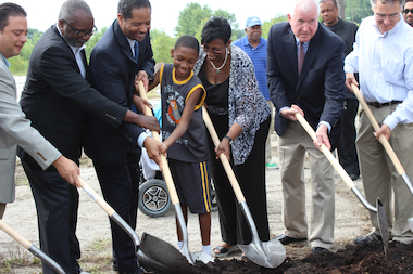 Ground Breaks on 'Remarkable' Pullman Community Center Complex