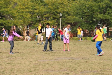 A grant from KaBoom! will pay for the 2,500-square-foot playground at the Portage Park school.