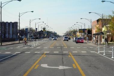 Bike Milwaukee To Chicago Protected Bike Lane Plan