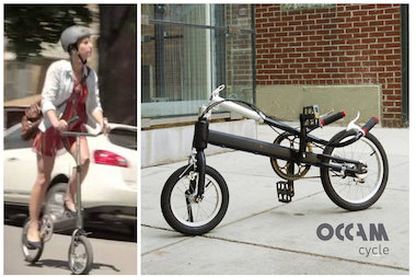 Bikes You Can Ride Standing Up Occam Cycle Kickstarter