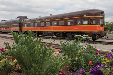 The historic cars have been restored by Pullman Rail Journeys and will make trips between Madison, Wisconsin, and Chicago.
