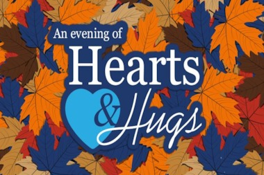 An Evening of Hearts and Hugs is scheduled to take place from 6 to 11 p.m. Oct. 25 at the Jean Marie Ryan Center at Misericordia, 6300 N. Ridge Ave.