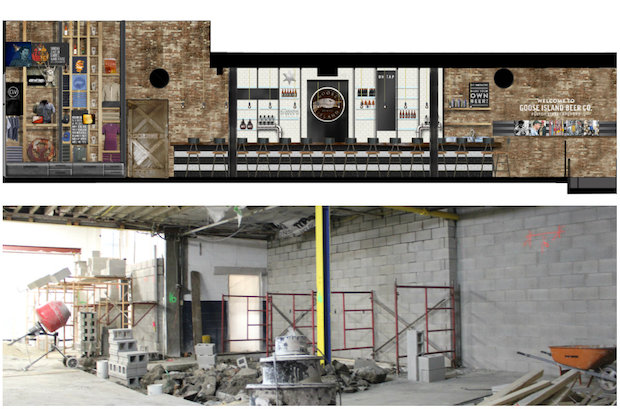By January, Goose Island's Fulton and Wood brewery on the Near West Side will offer tours and a taproom experience.