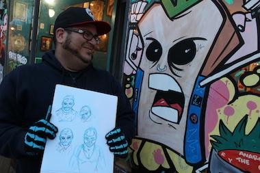 Comics artist Leo Perez launches his career from Bridgeport.