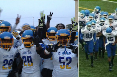 Simeon, Phillips Football Teams Reach IHSA State Semifinals for First Time