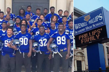 Wendell Phillips Academy's Football Team Looks to Add to School's History