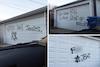 Synagogue, 30 Garages Tagged With Anti-Semitic Graffiti