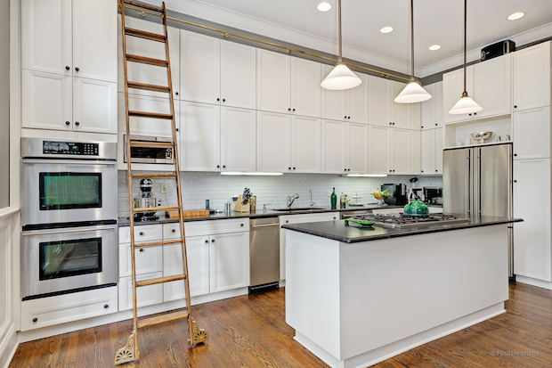 Lincoln Park Home With Library Ladder In Kitchen For Sale Million Lincoln Park