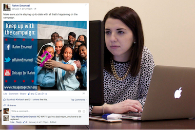 Haters Love Rahm Emanuel's Facebook Page, But No Plans to Turn OffComments