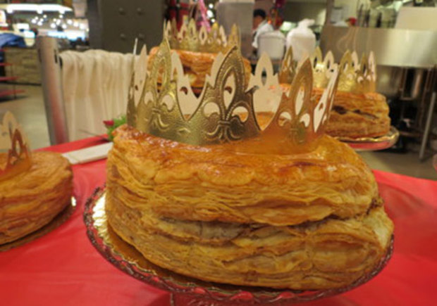 ... cake i cake 3 kings cake for three kings day rois cake of kings three