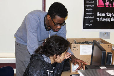 Lindblom Students Design Community Garden