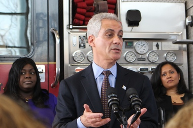 Rahm Says He's Best Bet to Win Obama Library; Chuy: I'm Just as Capable