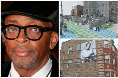 Spike Lee Instagrammed Photos of Himself From the Set of 'Chiraq'