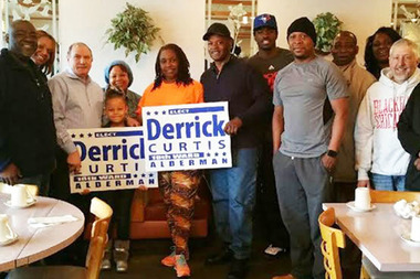 Election Winner Derrick Curtis Says It's Time to Help 18th Ward 'Heal'