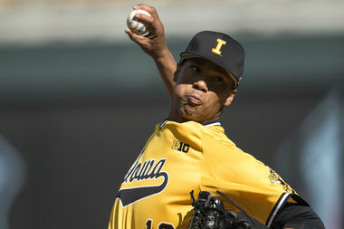 Iowa Pitcher Blake Hickman Hopes to Represent Best of Englewood