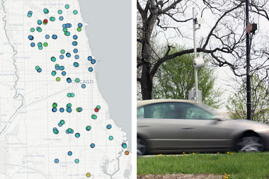 Chicago Speed Cameras, Mapped: How Active Is the Camera in Your 'Hood?