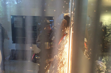 Firemen Break Through Wall, Arrest 9 U. of C. Trauma Center Protesters