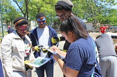 Lindblom Students Get Hands Dirty Designing and Building Community Garden