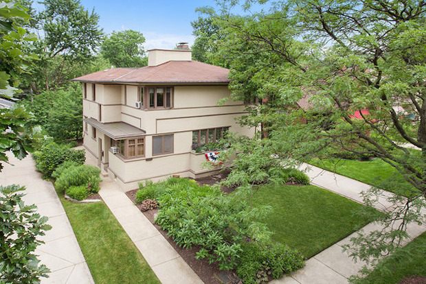 Frank Lloyd Wright Home For Sale In Beverly Beverly