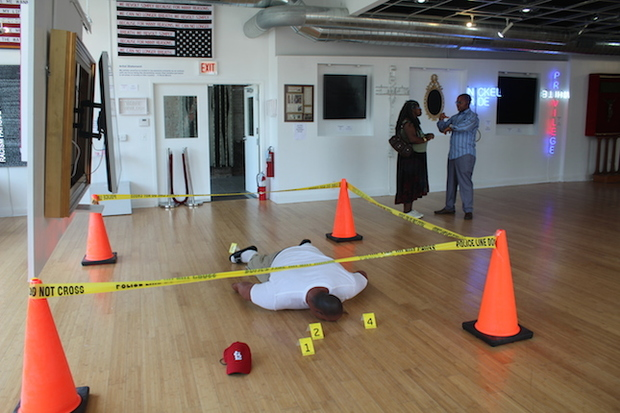 Critics of Michael Brown Exhibit Missed The Point, Gallery Owner Says